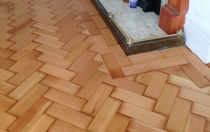 Wood Floor Restoration Nr Cardiff And The Vale Of Glamorgan By